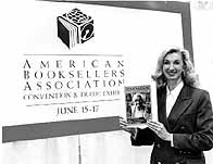 Lynn at the American Bookseller's Association convention