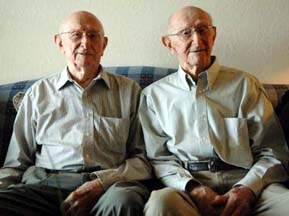 Carter Identical Twins Turn 100