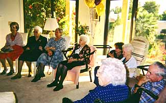 Centenarians gather to welcome the new millennium